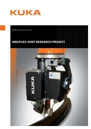 INDUFLEX JOINT RESEARCH PROJECT - KUKA Systems