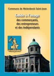 Nouvelle brochure 2. Guide pour les commerçants ... - Molenbeek