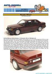 AUTO-MODELL-REPORT