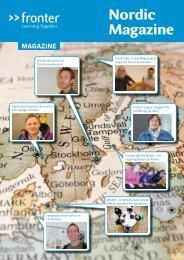 Fronter Nordic Magazine