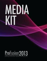 download media kit - ProFusion Pro Imaging Expo