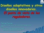 El punto de vista de los reguladores. - Pagina web de Ferran Torres