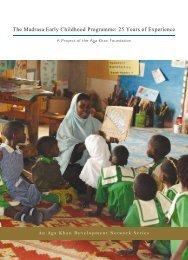 The Madrasa Early Childhood Programme - Aga Khan Development ...