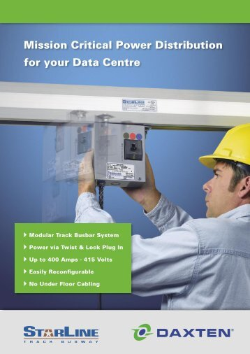 Mission Critical Power Distribution for the Data Centre - Daxten