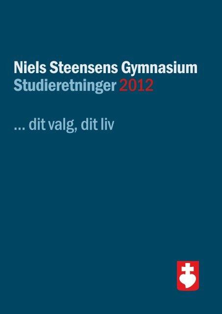Studieretningsfolder.. - Niels Steensens Gymnasium