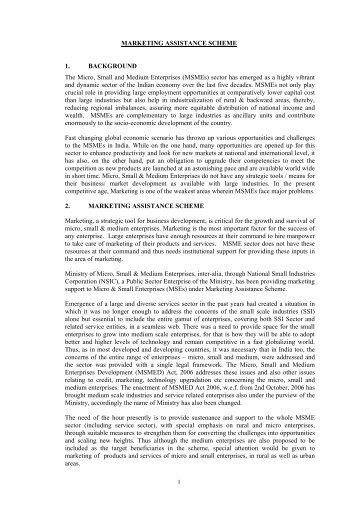 micro small and medium enterprises development act 2006 pdf free
