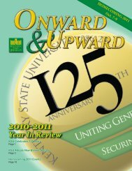 Onward & Upward: Year In Review - Kentucky State University
