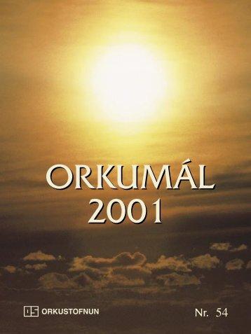 Almenningshitaveitur 2001 - Orkustofnun