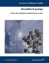 Grundfos E-pumps