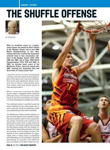 THE SHUFFLE OFFENSE - Basketball New Zealand