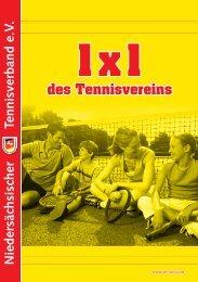 Das 1x1 des Tennisvereins (ntv-tennis.de)