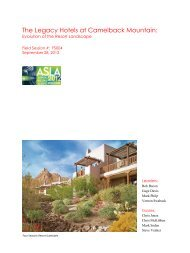 The Legacy Hotels of Arizona: Evolution of the - American Society of ...