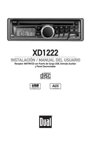XD1222 - Dual Electronics