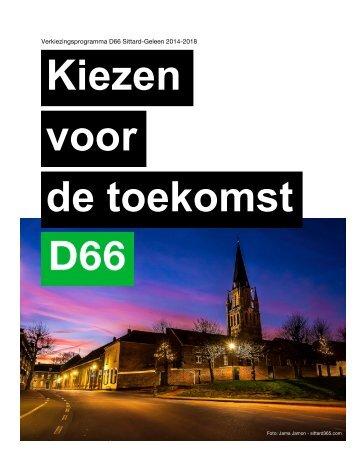 Verkiezingsprogramma-D66-2014-20181