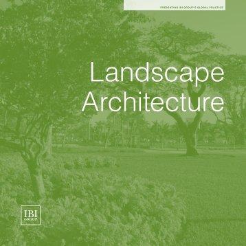 Landscape Architecture - IBI Group