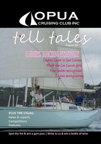Tell Tales August 2011 - Opua Cruising Club