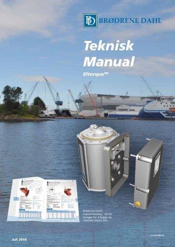 Eltorque Teknisk manual 2010 - Brødrene Dahl