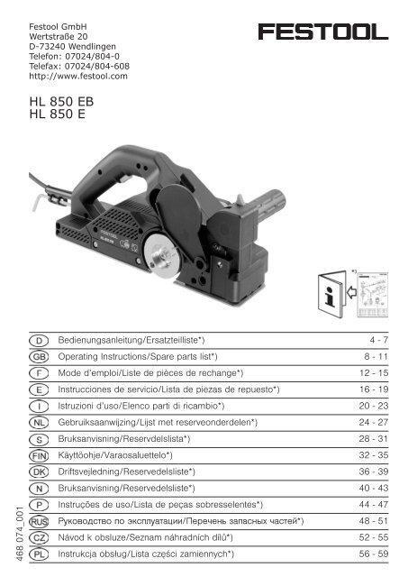Festool hobelkopf HK 82 RW