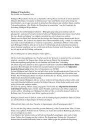 Hildegard Wegscheider Ein Artikel von Susanne Fuchs Hildegard ...