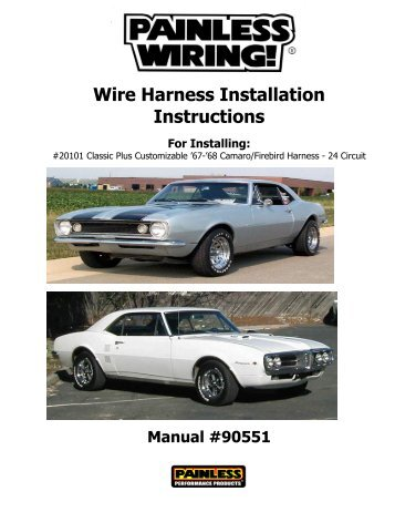 wire harness installation instructions painless wiring?quality=85 30831 ford 3g alternator connection kit painless wiring  at n-0.co