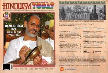 Rameshbhai Oza - Hinduism Today Magazine