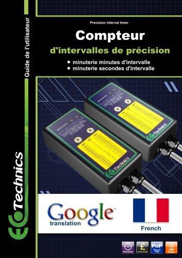 Compteur - Ecotechnics