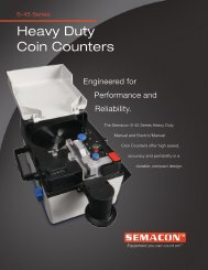 Heavy Duty Coin Counters - Check Writers