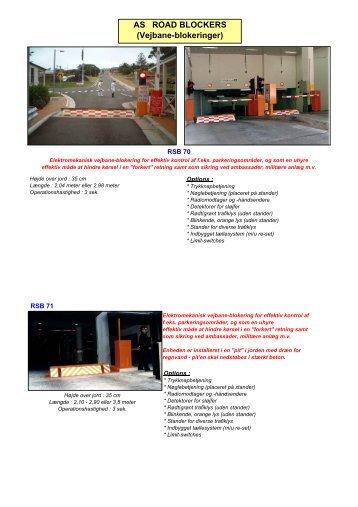 Road Blockers - DKC