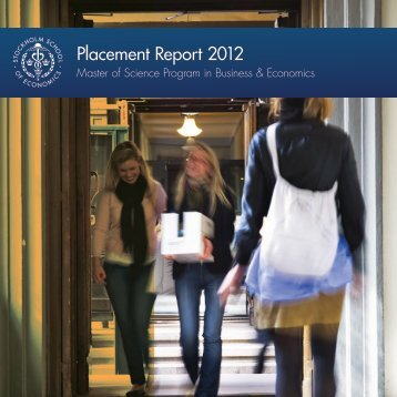 Placement Report 2012
