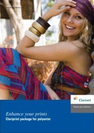 Enhance your prints - Clariant