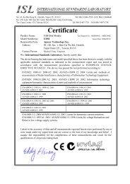 Certificate - Apacer