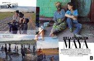 servizio sul viaggio in Zambia dell'attrice Maya Sansa - Oxfam Italia