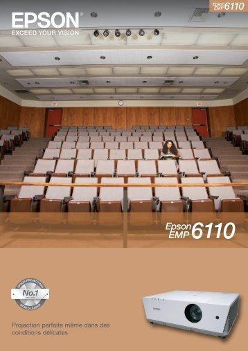 Télécharger la brochure commerciale Epson EMP-6110 - Lampe ...