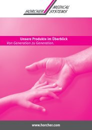 Broschüre (PDF) - Horcher GmbH