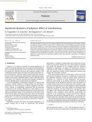 Correlation Spectroscopy in Polymer Physics 1  Basics 2