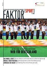 Ausgabe 1/2012 - Der Deutsche Olympische Sportbund