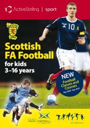 Active Stirling Community Programme Dec - April 2011 - Scottish ...