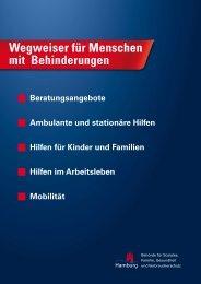 Wegweiser für Menschen mit Behinderungen - ASBH Hamburg