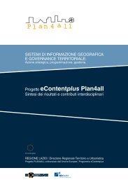 eContent plus Plan4all - Regione Lazio