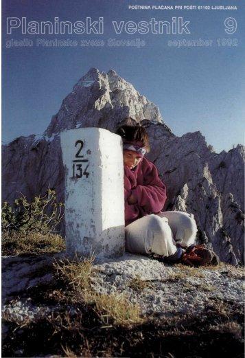 September - Planinski Vestnik