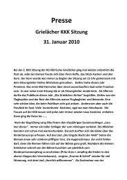 2. KKK-Sitzung 2010 - KG Närrische Grielächer Worringen von 1902 ...