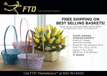 FREE SHIPPING ON BEST SELLING BASKETS! - FTD, Inc.