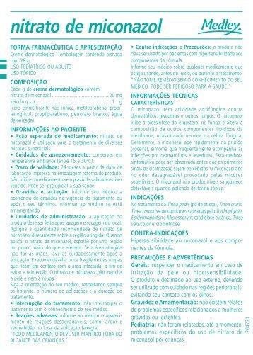 nitrato de miconazol - Consulta Remédios