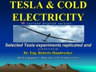 Cold electricity - Tesla Society Switzerland