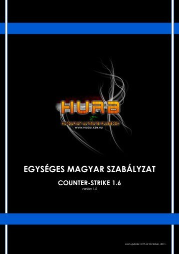 egységes magyar szabályzat - hugui