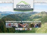 View Corporate Presentation - Yukon Gold Mining Alliance