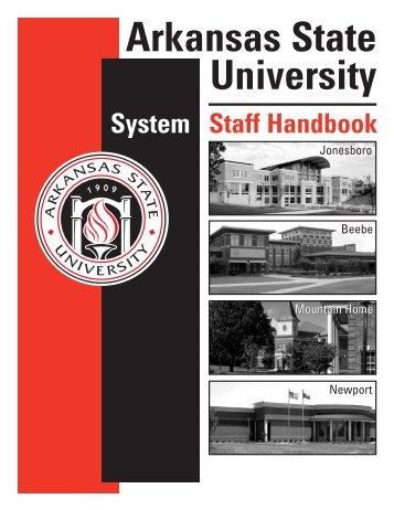 Staff Handbook - Arkansas State University