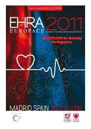 EHRA EUROPACE 2011 Industry Guidelines - ESCexhibition.org, as