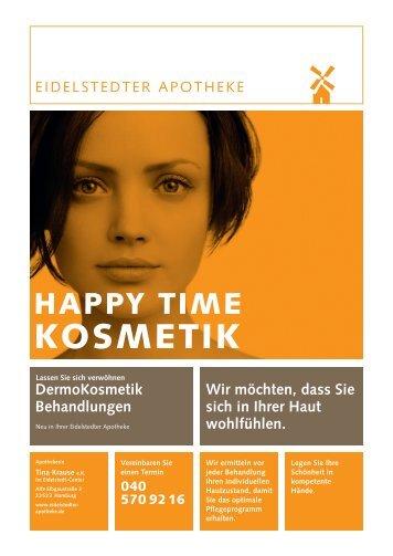 HAPPY TIME KOSMETIK Dermokosmetik ... - Eidelstedter Apotheke