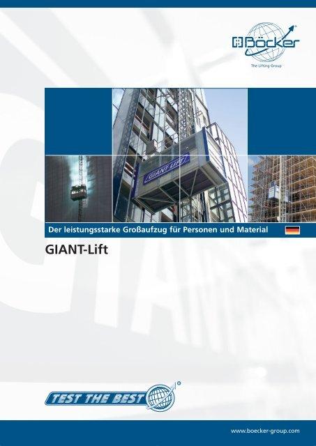 GIANT-Lift - Albert Böcker GmbH & Co. KG